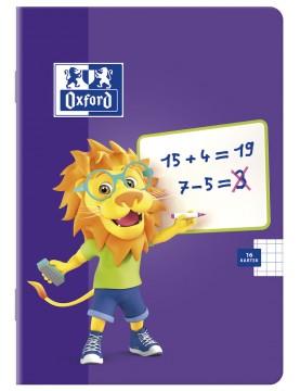 Zeszyt Oxford Lion A5 16 kartek w kratkę